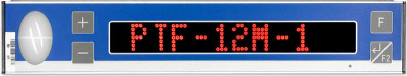 PTF-12M-1 Pick-by-Light Modul mit 12-stellige Matrix-Anzeige und Tasten