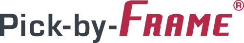 Pick by Frame - Logo